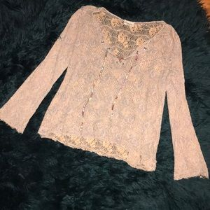 Gimmicks by BKE lace long sleeve